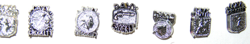 Davy Crockett pins