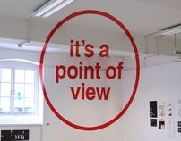 Anamorphic Typography - It's a Point of View