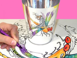 Morph-O-Scopes Fairies Fantasy Packet - 3. Hopping a ride on a dragonfly