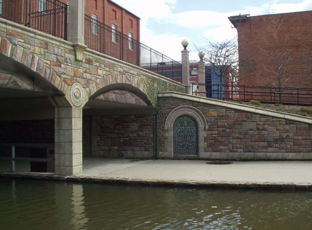 Frederick Trompe l'Oeil Mural Bridge