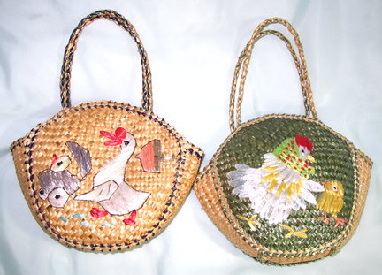 Easter Egg Basket Purses