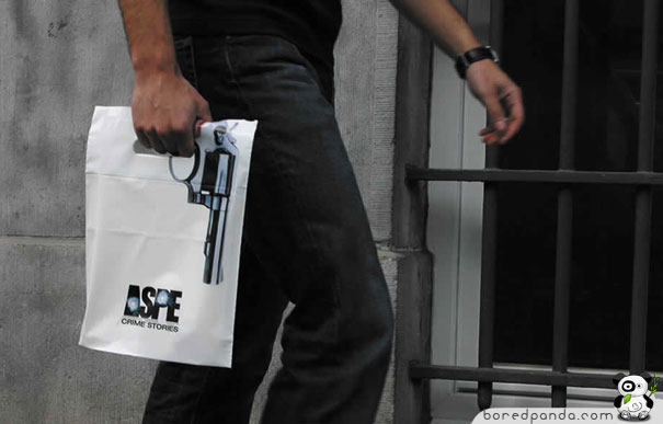 Shopping bag - revolver