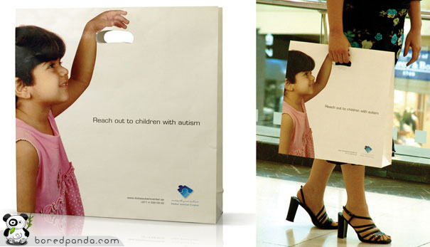 Shopping bag - Reach out to children with autism