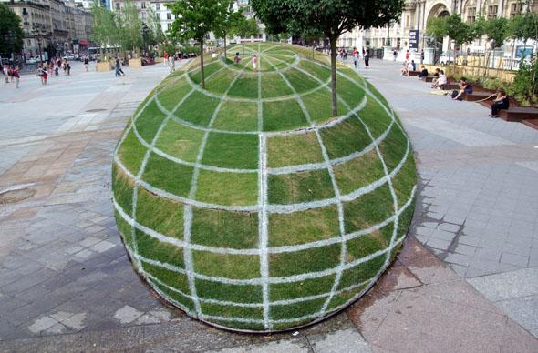 3-D Grass scape