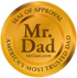 Mr. Dad Seal of Excellence
