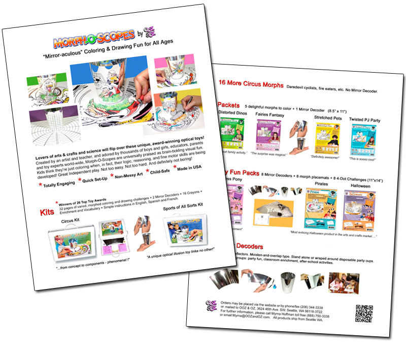 OOZ & OZ Retail Catalog