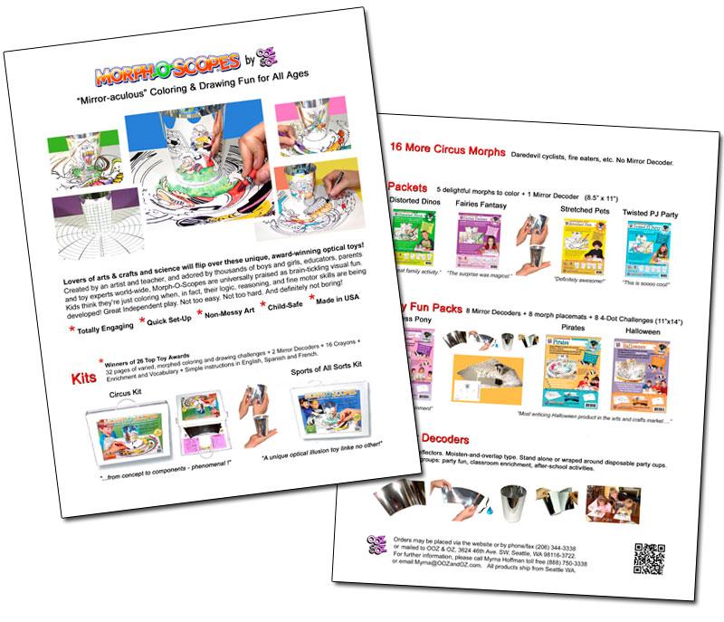 OOZ & OZ Retail Catalog