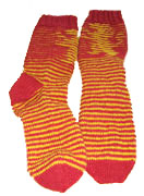 Gryffindor shadow-knit sox