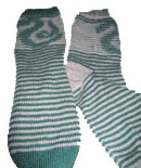 Slytherin shadow-knit sox