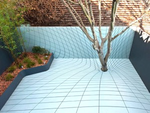 Optical Illusion deck floor for Apple Exec, Jeff Dauber