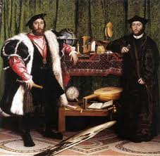The Ambassadors by Hans Holbeing the Younger