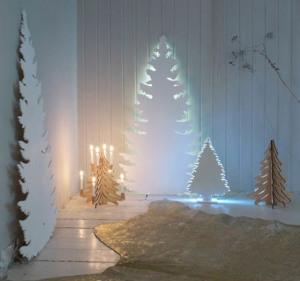 Christmas Tree - Cardboard backlit