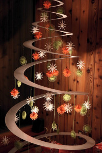 Christmas Tree - Metal Spiral