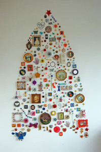 Christmas Tree - Wall Art Collage